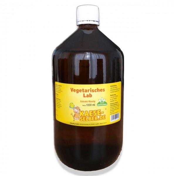 Vegetarisches Lab - Labextrakt flüssig 1000 ml
