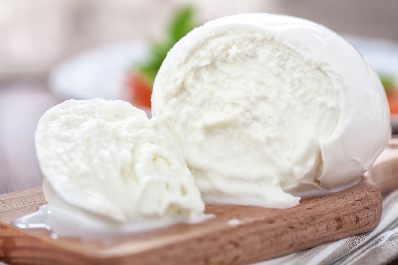 Käse selber machen - Mozzarella