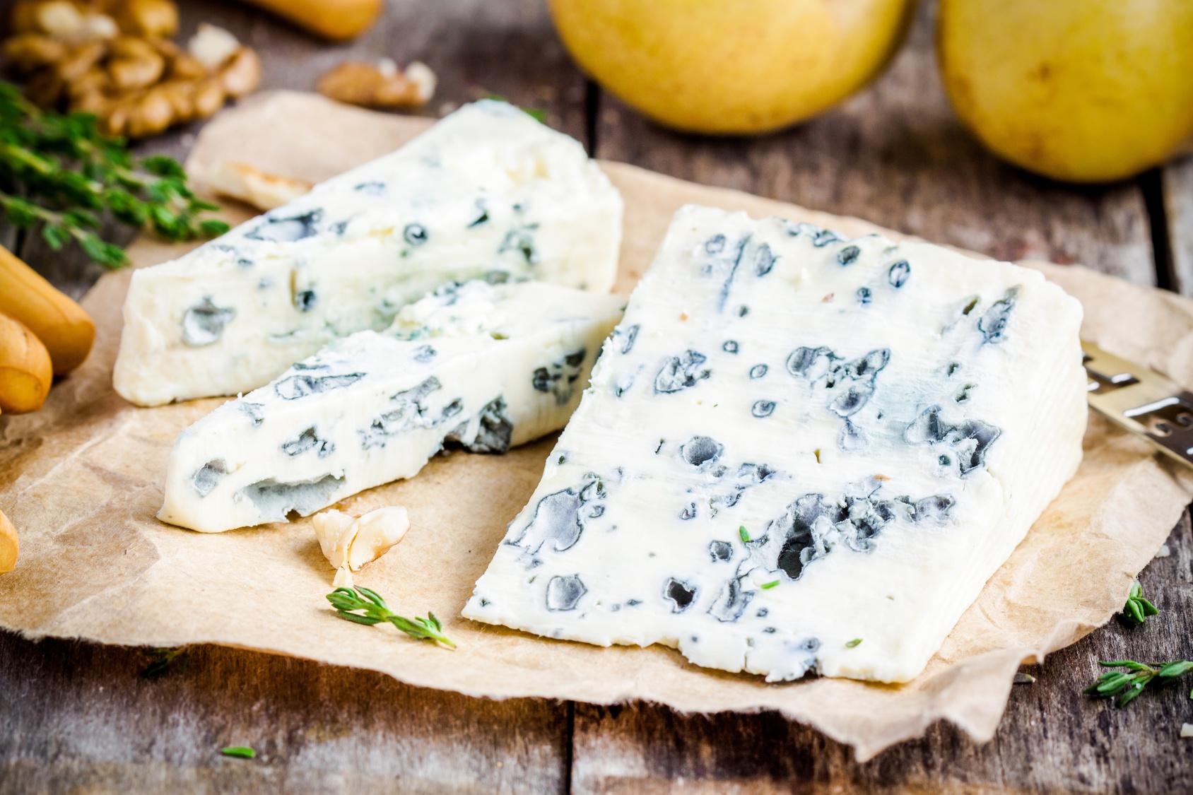 Käse selber machen - Blauschimmelkäse