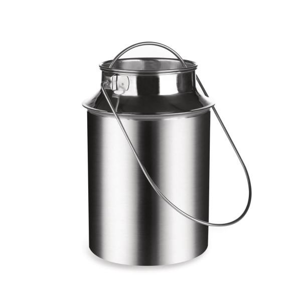 Milchkanne 3 Liter aus Edelstahl