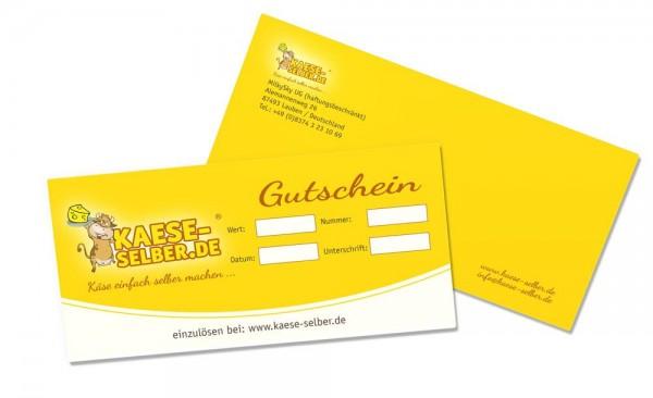 Gutschein KAESE-SELBER.AT Onlineshop