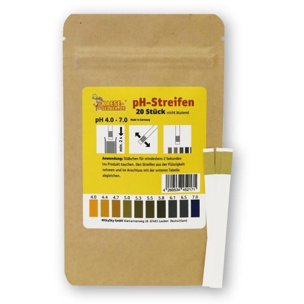 pH-Streifen (20 Stück)