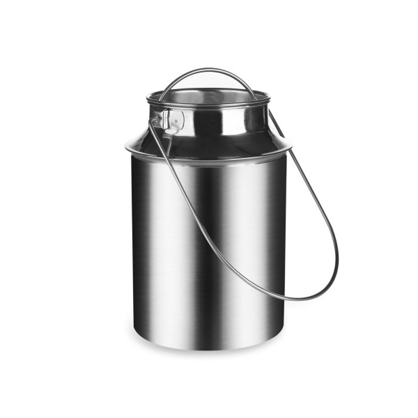 Milchkanne 1,5 Liter aus Edelstahl