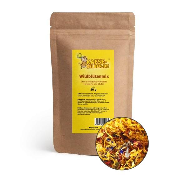 Wildblütenmix 50 g (Essbar)
